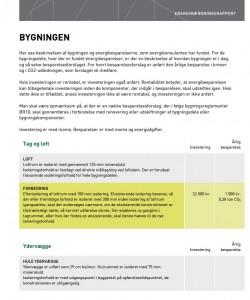 energimærkningsrapport