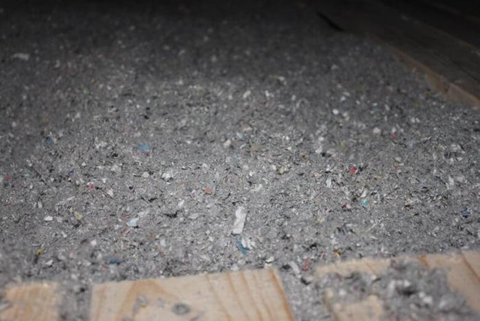 Årlig besparelse med papiruld på loft